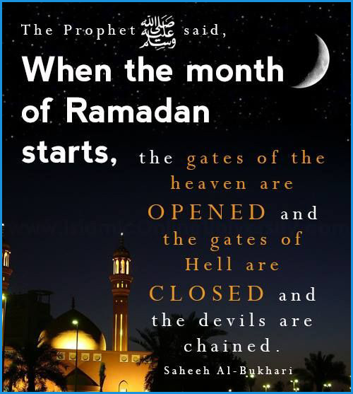 Someone Special Quotes In English: Ramadan : A Month Of Blessings